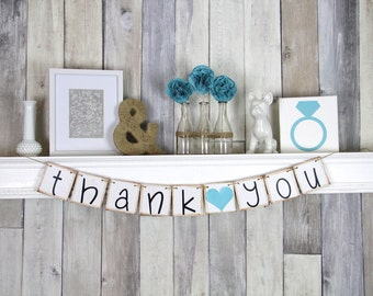 Thank you Banner, Thank you Prop, Thank you Notes, Thank you Sign
