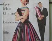 Nov. 1954 Mademoiselle Magazine - 1950s Teen Girl - Women - Ads - Fifties Fashion - Beauty - Style - Christmas - Vintage Photos - Ephemera
