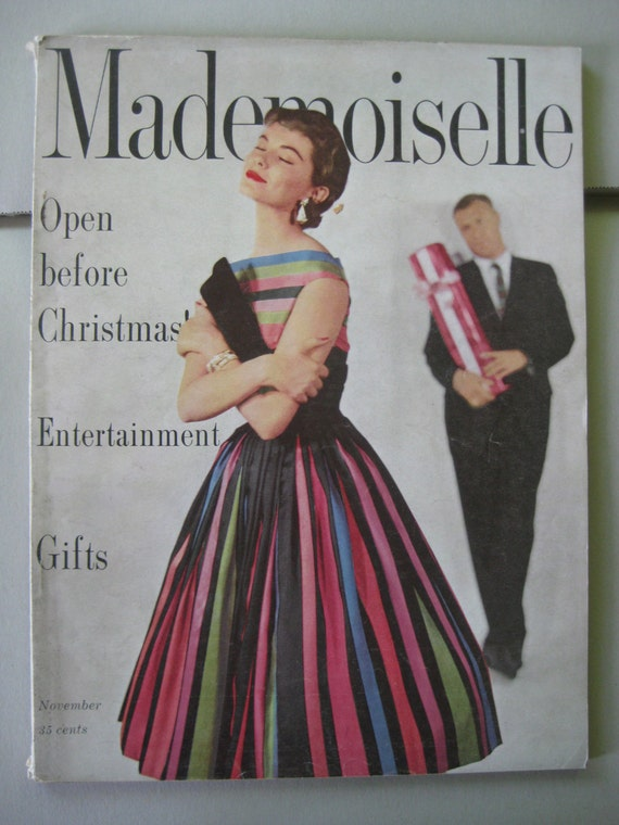 mademoiselle magazine a christmas memory Pittsburgh magazine / eat and drink / recipes edit module edit module show tags for many years, public television ran a holiday classic titled a christmas memory.