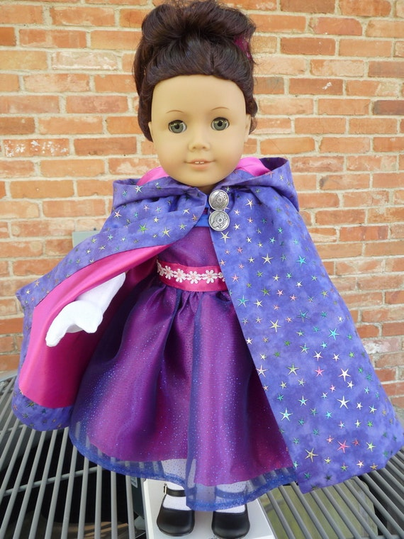 18 Doll Clothes Fancy Dress And Cape For Holiday Parties