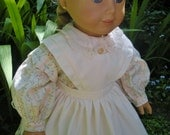 Civil War Dress and Apron (American Girl Doll Clothes)