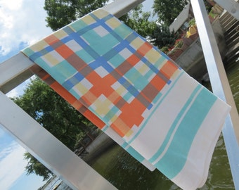 Popular Items For Tablecloth Orange On Etsy