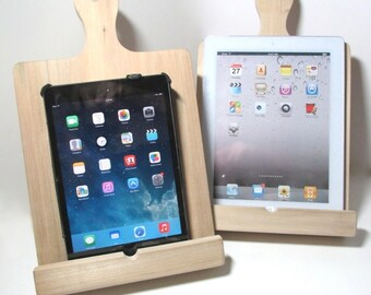 Recipe book stand or iPad stand or art easel made from solid pine wood - ready to be shipped.