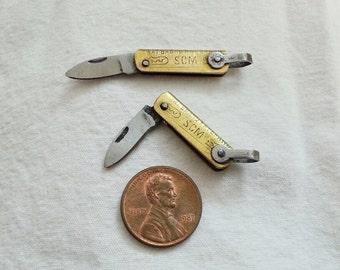 knife miniature, folding knife size1typeA