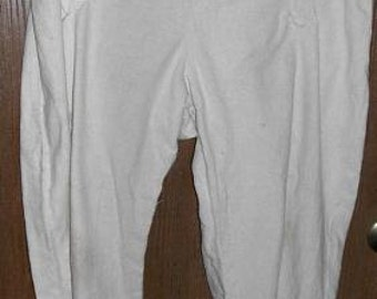 Duck Canvas Broadfall Drop front pants - 100% cotton duck canvas in natural, and brown