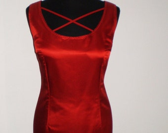 Red  dress / Christmas dress/ party dress