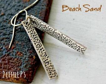 Beach Jewelry, Nautical, Ocean inspired, Beach Sand Earrings