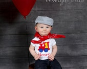 Boys Conductor Hat, Train Engineer Pinstripe, Train Conductor Hat, Infant, Toddler