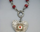 Heart Necklace, Heart Jewelry, Valentine Jewelry, RP0363NK
