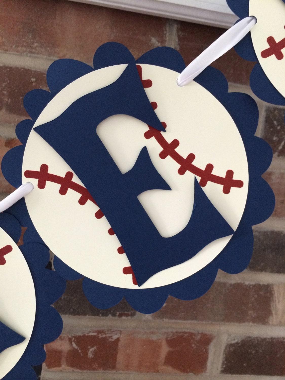 baseball baby shower banner lil slugger baby by antsydesigns