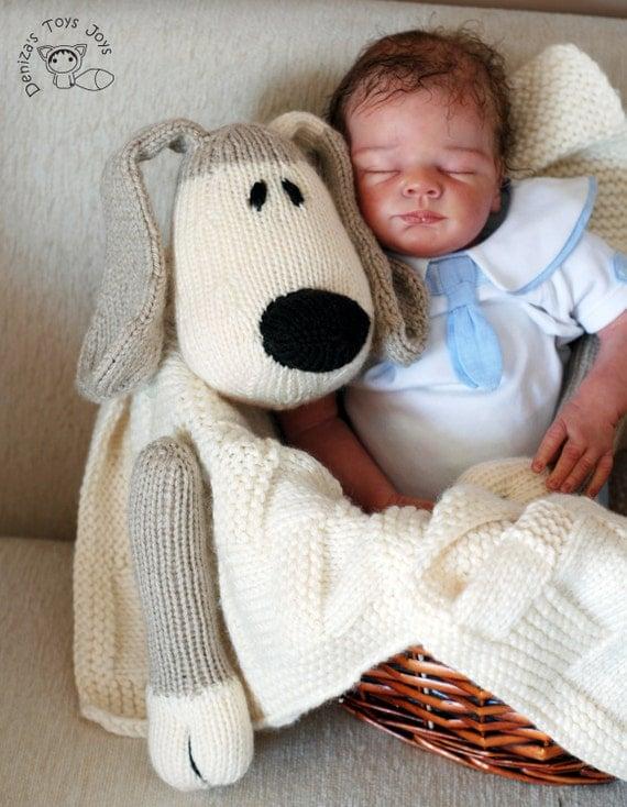 Dog Toy Baby Blanket knitting pattern