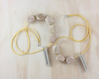 Ise 3 bead necklace
