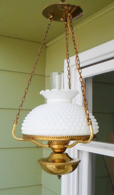White Hanging Lamp Shade