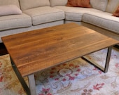 the WILKINS -  Coffee Table - Custom Reclaimed Wood