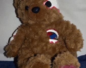 Bear Lya Live (Stuffed bear with sculpted parts)