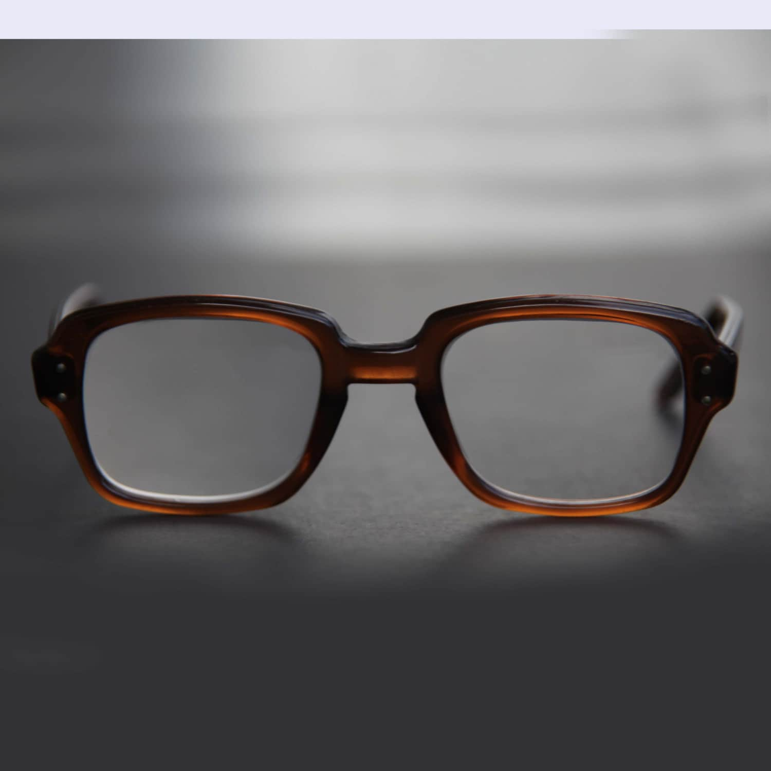 US Military Eyeglasses Square Rectangle Keyhole by ...