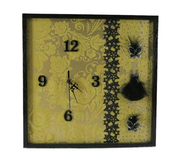 Unique Wedding Anniversary Gifts Australia : ... Anniversary Gift, Home Decor, Contemporary Clock, Golden Wedding