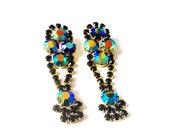 B E Y O N C E  Rhinestone Earrings