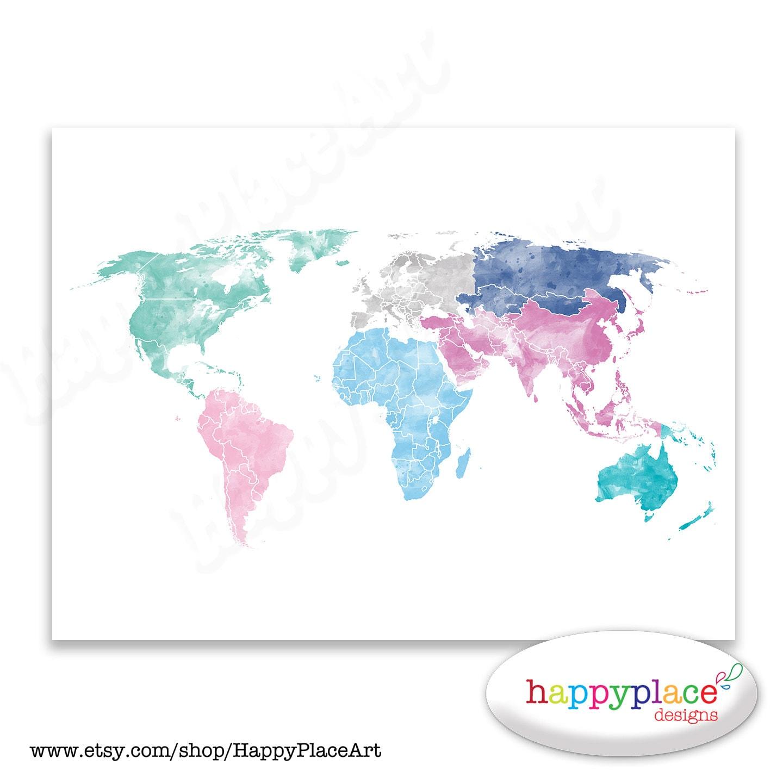 Pretty World Map Images World Map Eraser Clings Surviving A S - Cute world map wallpaper