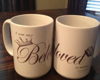I am my Beloved's and my Beloved is mine - mugs