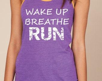 Featherweight half marathon and marathon running shirts  Half Marathon Eco Running Tank