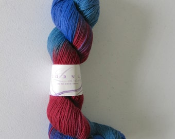 50g Lorna's Hand-Dyed SHEPHERD SOCK yarn in Ravenswood