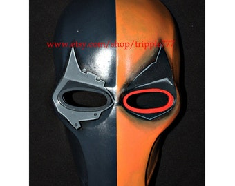 Army of two mask, Paintball airsoft mask, Halloween mask, Steampunk mask, Halloween costume & Cosplay mask, S2 Deathstroke mask v2 MA134 et
