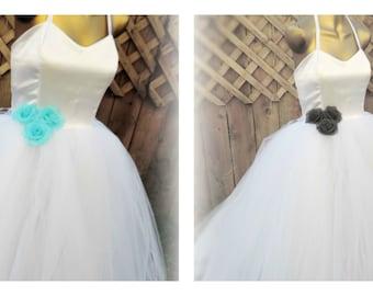 wedding gown adult tutu dress white wedding dress