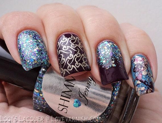 Shimmer Nail Polish - Jenny