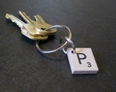 Scrabble keychains (Wood), scrable, hasbro scrabble, cool keyrings, scrabbl, srabble, car keychains, cool keychains, scrabble original