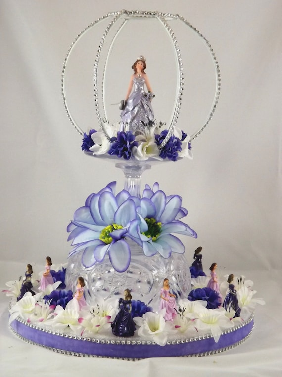 quinceanera cake topper items similar to lighted sweet 16 or quince cake topper 6935