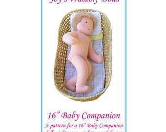 "16"" Baby Companion Pattern - Joy's Waldorf Dolls"