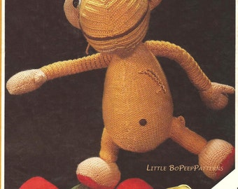 Pullover TV Character Toy - PDF knitting pattern [DOWNLOAD]