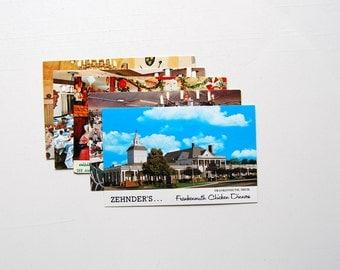 Frankenmuth, Michigan Vintage Postcards, Set of 5