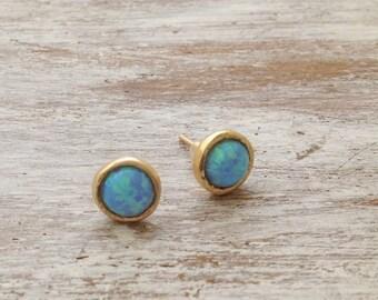 earrings opal, gold opal earrings, stud earrings, opal stud earrings, opal jewelry, stud earrings opal, opal gold earrings