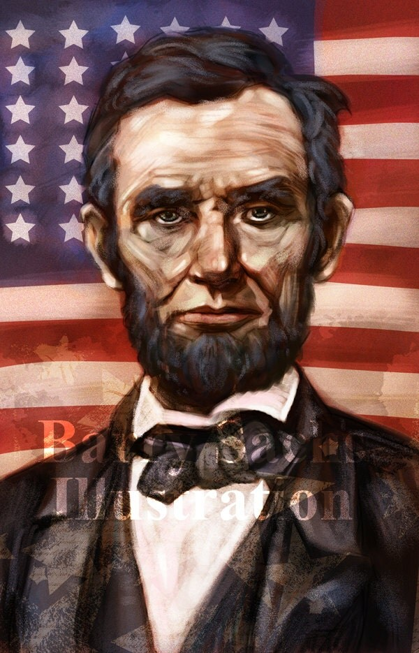 Abraham Lincoln 11x17 Print