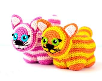 Crochet Amigurumi Pattern - Toy Cat
