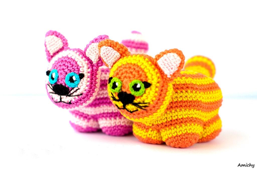 Crochet Amigurumi Pattern Toy Cat