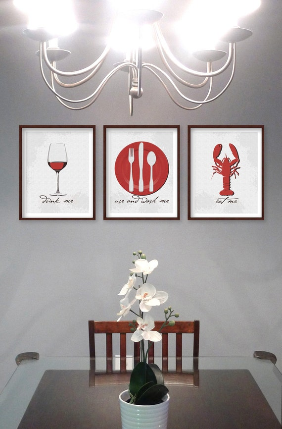 dining room art kitchen art prints dining room prints set of 3