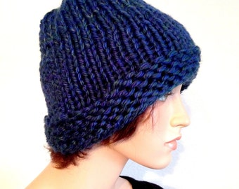 Hand Knitted Chunky Winter Beanie