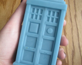 Doctor Who Tardis Extra Large Soap / dr who / dr who merchandise / Father's day gift