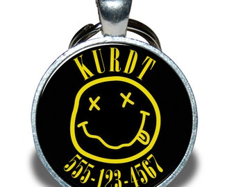 Pet ID Tag - Nirvana *Inspired*