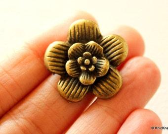 Bronze Flower Pendant
