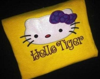hello tiger spirit shirt. Black Bedroom Furniture Sets. Home Design Ideas