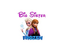 Disney Frozen Sister Shirt - Elsa and Anna