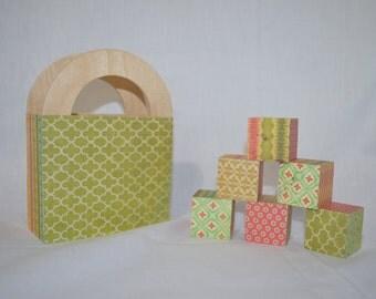 Retro Style Blocks