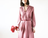 Vintage 60's preppy dress Fall dress Great vintage piece Modern dress 60 s (S/M)