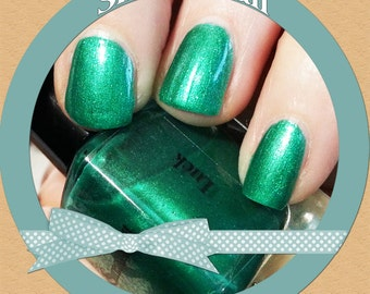 Luck - Green duo chrome specked nail polish