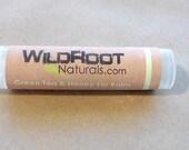 Grandma's Green Tea & Honey Lip Balm, healing lip moisturizer, fragrance free, organic
