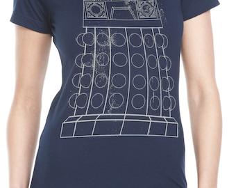 Womens' Exterminate Dr Who Dalek Shirt